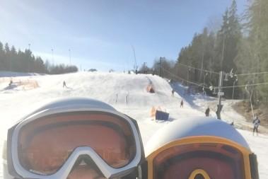 Slalombacke o LCHF fika