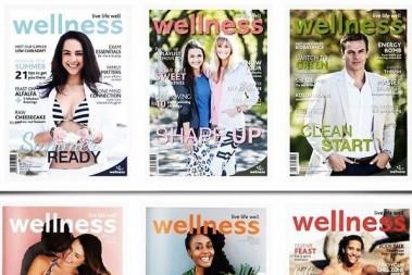Cover girl till Wellness magazine! JAG!