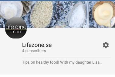 Lisa gör en hälso-smoothie på youtube!