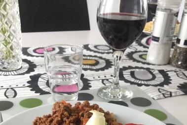 Spontanbjuden på lchf middag!