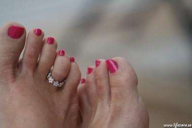 Sommarfina fötter fixade – min belöning!