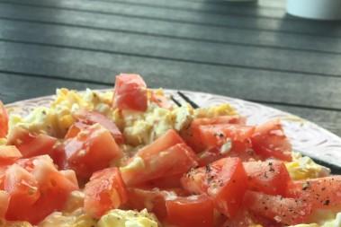 Äggfrukost o äggfasta