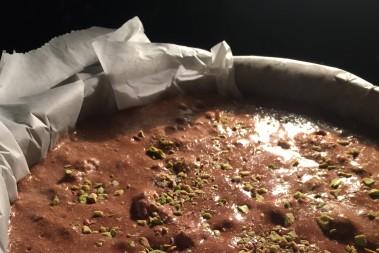 LCHF pistache- & chokladkaka! SÅÅÅÅ GOTT!