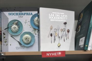 Sockerfritt på bokhandeln