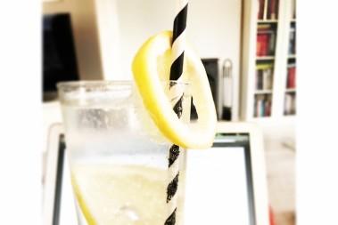 Festligt vatten – med salttwist!