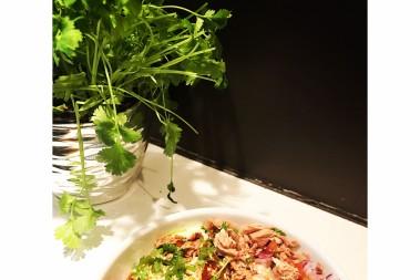 Het lchf tonfiskröra m koriander – jättegod!!!