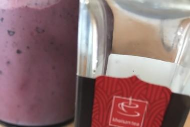 LCHF vanilj- & bärglass