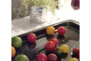 Ugnsrostade tomater – långsamt