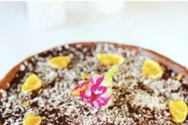LCHF chokladkaka med glasyr