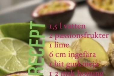 Passionsfruktskvass för tarmcharm