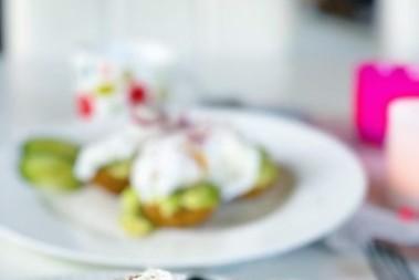 Pocherade ägg på hälsobröd!