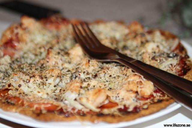 lchf pizzabotten ost ägg