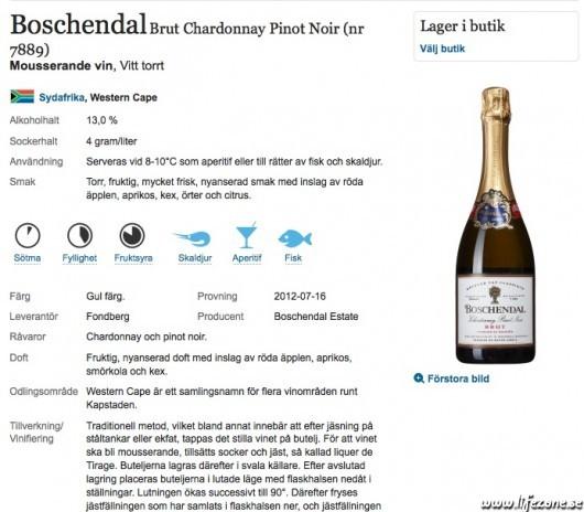 kolhydrater i vin