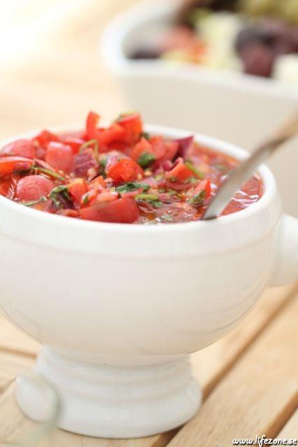 Marcus underbar goda tomat och koriander salsa