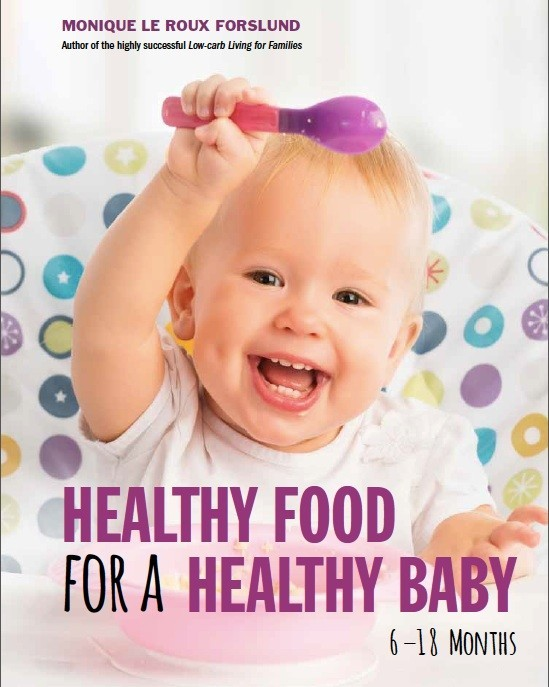Cover Healthy Food for a Healthy BABYj